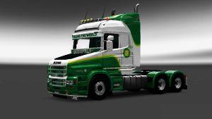 BP paintjob for Scania T