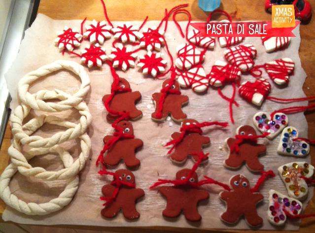 Segnaposto Natalizi Pasta Di Sale.Natale Con La Pasta Di Sale La Mini Factory