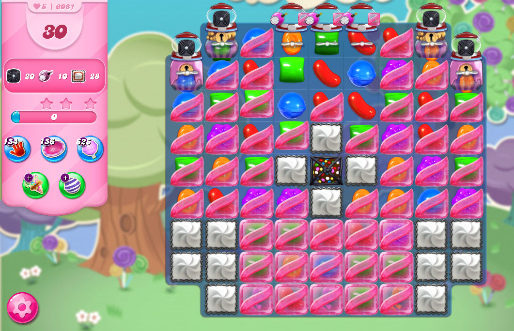 Candy Crush Saga level 6081
