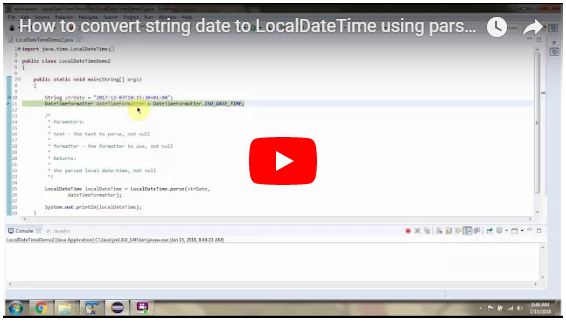 converting string to date in java