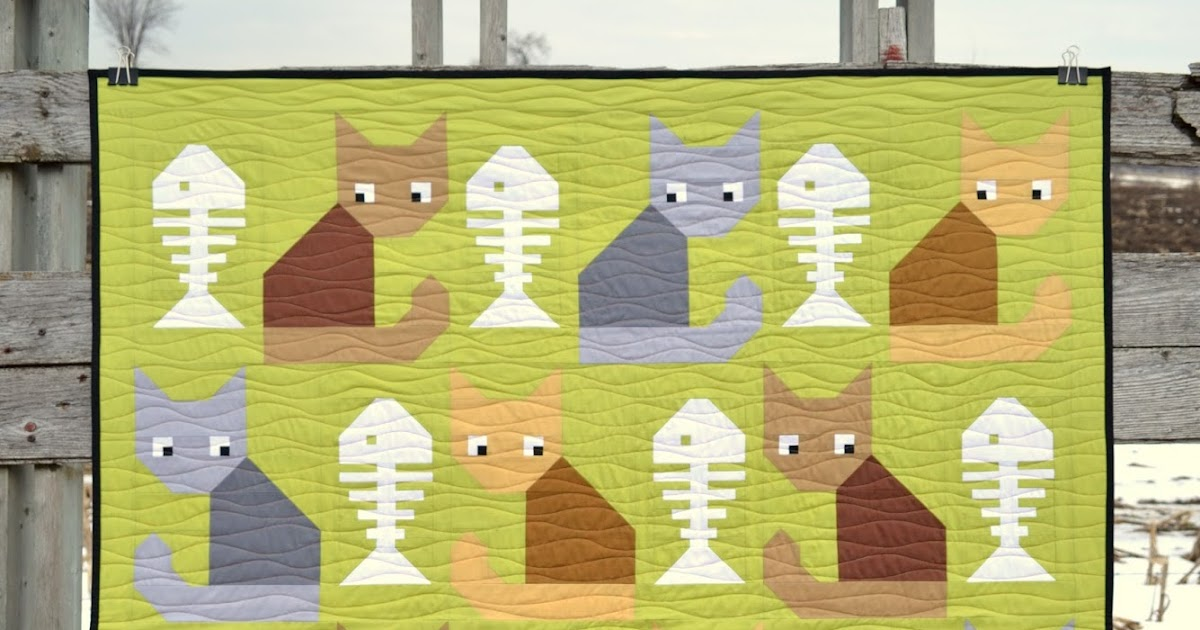 Sew Fresh Quilts: Cat Treats