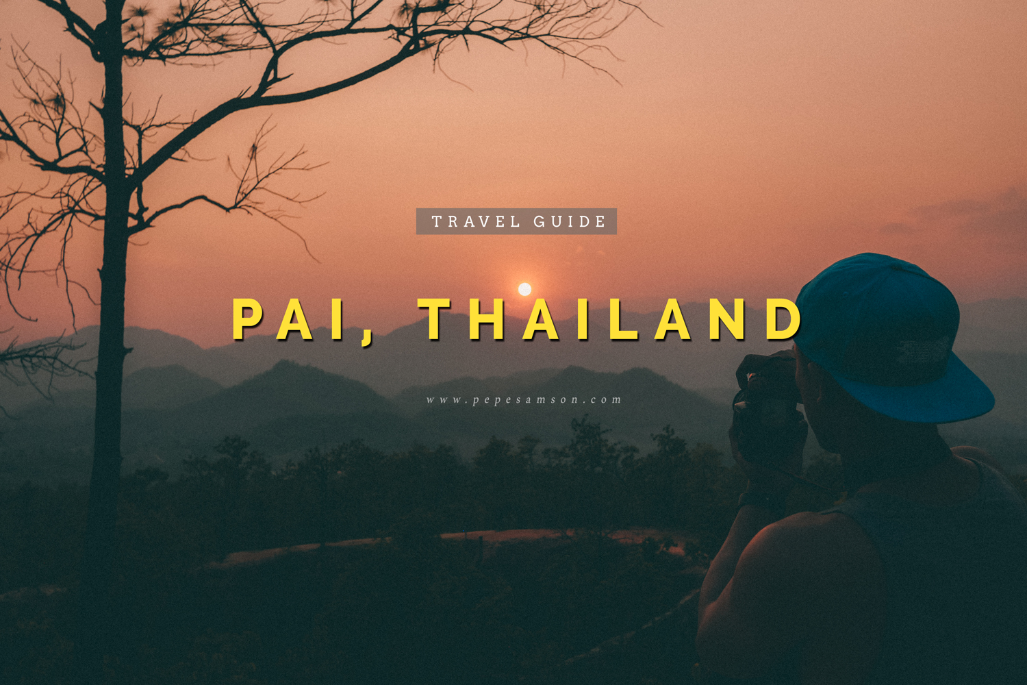 pai thailand travel guide