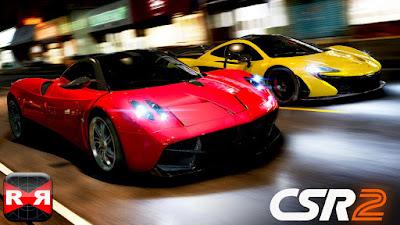 Game racing CSR Racing 2