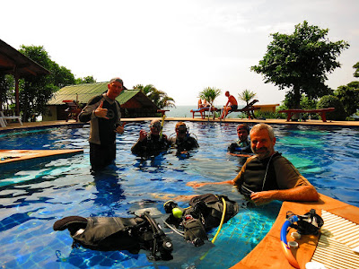 PADI IDC on Koh Phangan for December 2016 has been completed