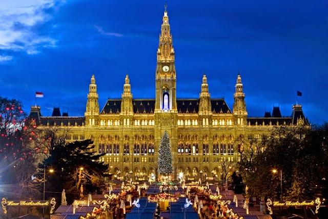 Αποτέλεσμα εικόνας για δημαρχείο Βιέννης