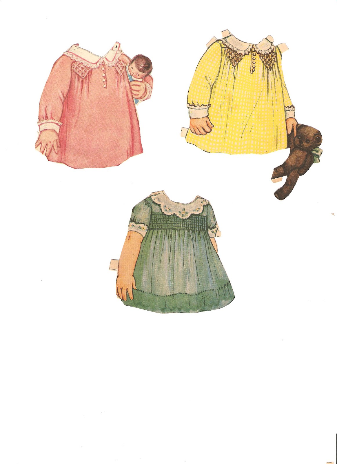 Miss Missy Paper Dolls Small Queen Holden Sets