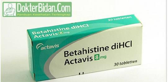 Betahistine - Info Obat Indikasi Dosis Manfaat Dan Efek Sampingnya Bagi Kesehatan Pria Wanita