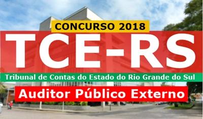Concurso TCE-RS 2018