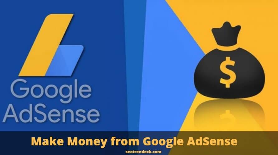 make money from google