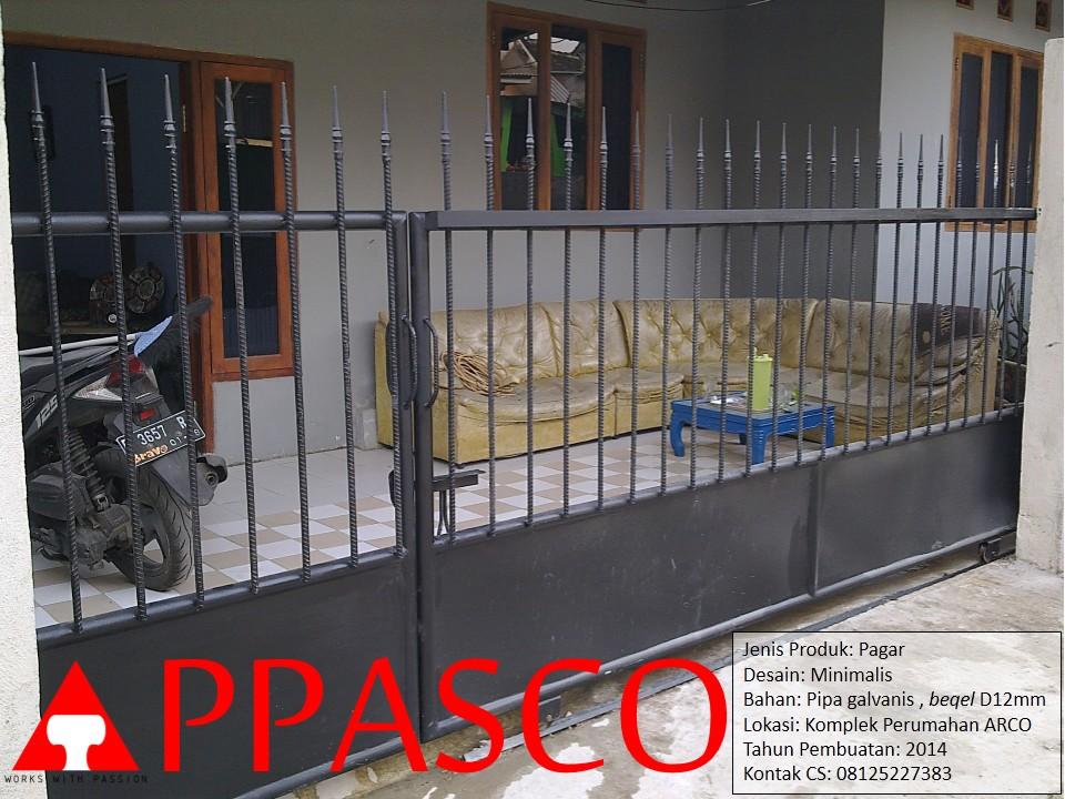 Pagar Minimalis Perumahan ARCO