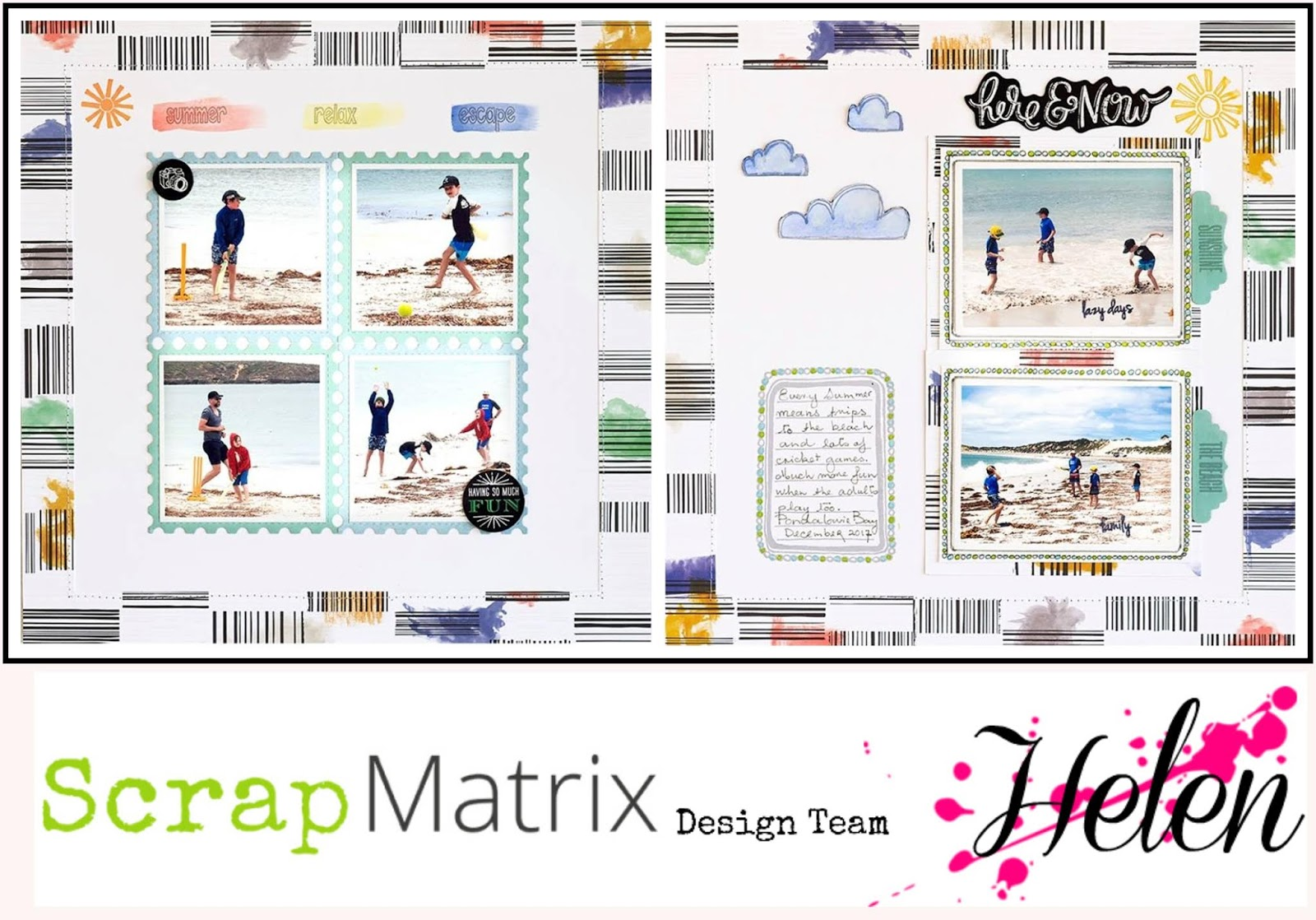 Scrap Matrix Blog: Scrap Matrix DT September 2018 - You\'ve been framed