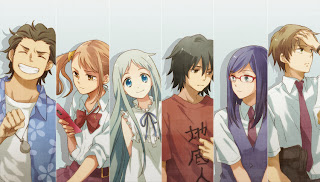 Download Anime Full Ano Hi Mita Hana no Namae wo Bokutachi wa Mada Shiranai [1-11] Sub.Indonesia