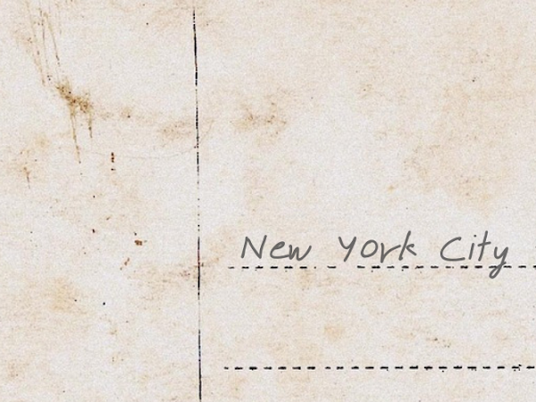 Postcards From Home: New York City