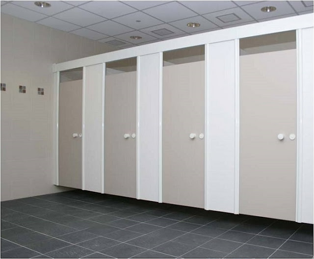 Vách ngăn vệ sinh khả năng chịu lực rất tốt, dễ dàng vệ sinh