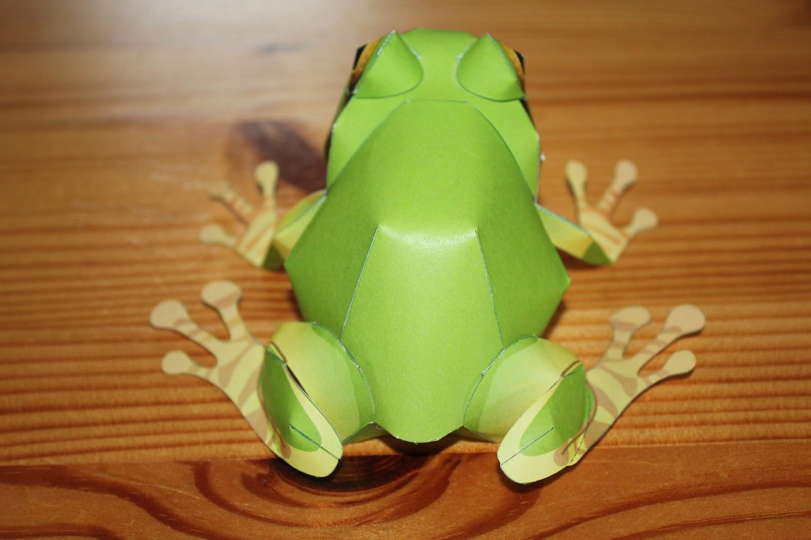 midori 39 s blog papercraft frosch und der goldene schnatz. Black Bedroom Furniture Sets. Home Design Ideas