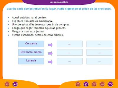 http://www.ceiploreto.es/sugerencias/juegos_educativos_4/3/3_Demostrativos_I/index.html