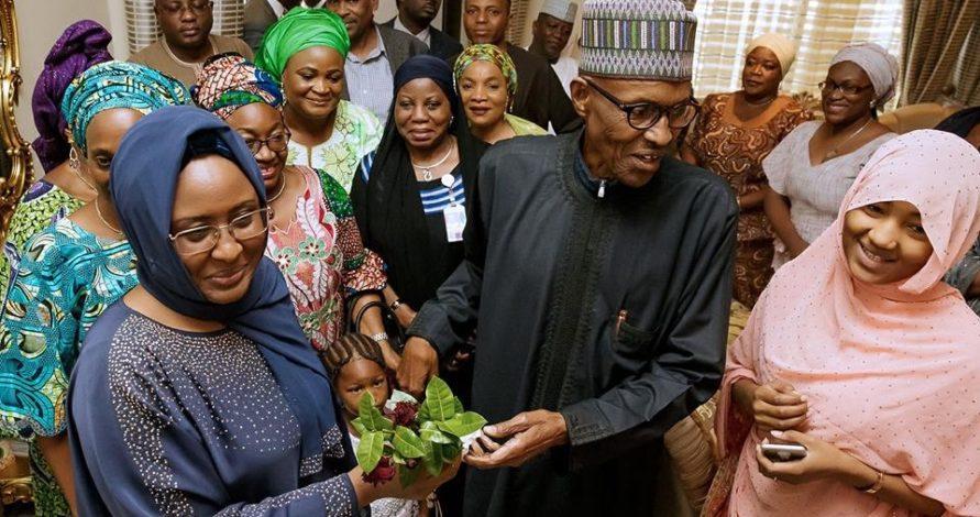 My husband's health not too bad – Aisha Buhari