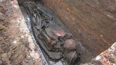 1,967 bodies exhumed at Georgian-era cemetery in UK