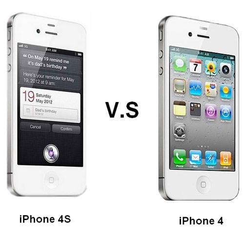 iPhone 4S VS iPhone4: Quick Review | Gadget Centris