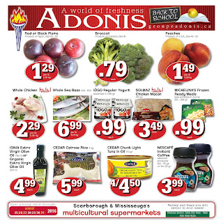 Adonis flyer pointe claire