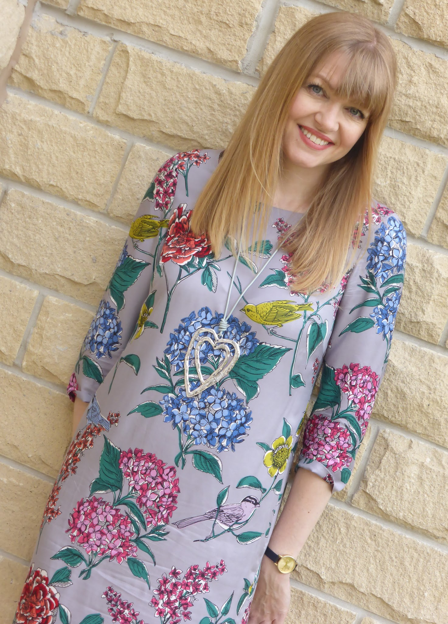 What Lizzy loves wearing Boden Eliza tunic dress