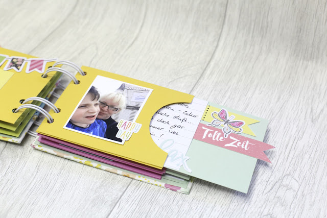 Minibook Scrapbooking danipeuss.de