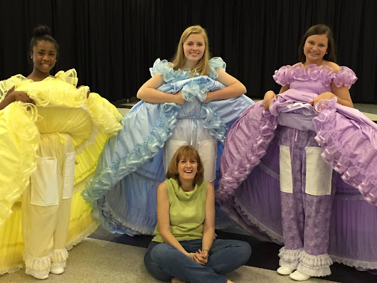 Azalea Trail Maids- Behind the Scenes with Dressmaker Susan Finizola