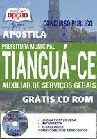 Apostila Concurso Tianguá CE 2016.