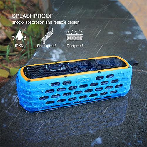 ALAFAT Enceinte Portable sans Fil Bluetooth étanche pas cher