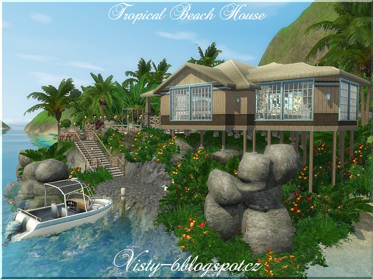 Tropical Island Beach House: Tropical Beach Houses 17 Photo Gallery