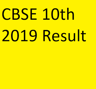 CBSE 10th Class 2019 Result