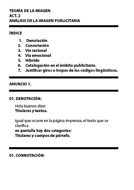Atractivo Connotación Y Hojas De Trabajo Denotación Grado 6 ...