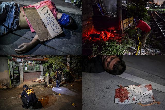 Mais de 300 drogados e traficantes morreram nas Filipinas após presidente pedir que população os elimine