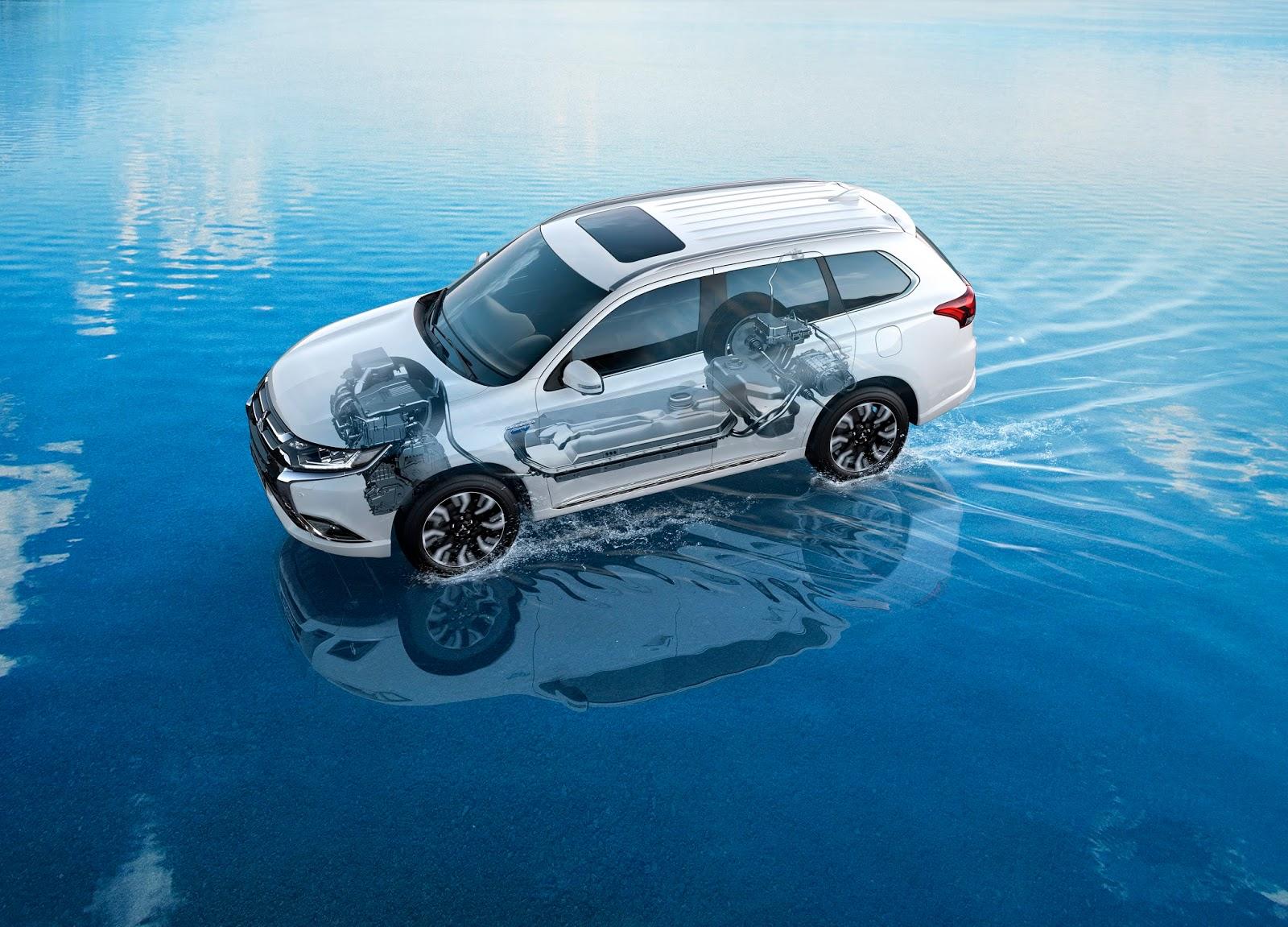 Mitsubishi%2BOutlander%2BPHEV%2BII%2Bgeneration Το υβριδικκό MITSUBISHI OUTLANDER PHEV ξεπέρασε τις 50.000 πωλήσεις στην Ευρώπη