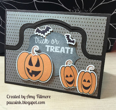 Pumpkin Stand Up and Flip It Cards