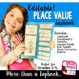 Editable Place Value Lapbook