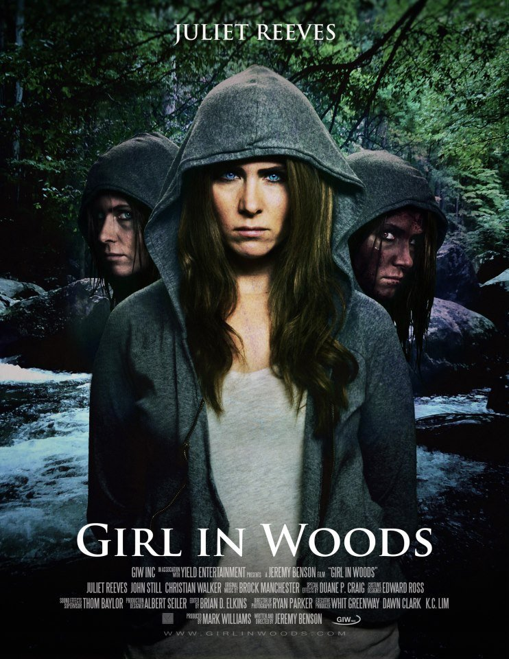 Girl in Woods Com Legenda Português