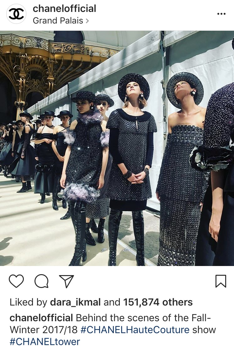 Koleksi Terbaru Fall/ Winter 2017 from Chanel