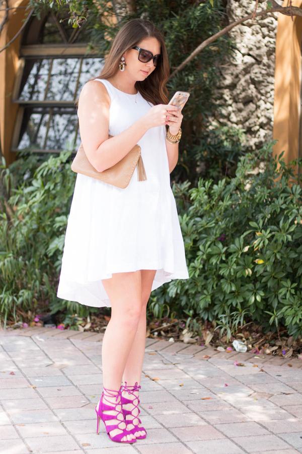 South Florida fashion blogger.