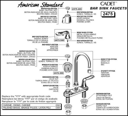 Fabulous American Standard Cadet Faucet Parts KabarKito