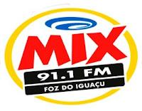 Rádio Mix FM 91,1 de Foz do Iguaçu PR