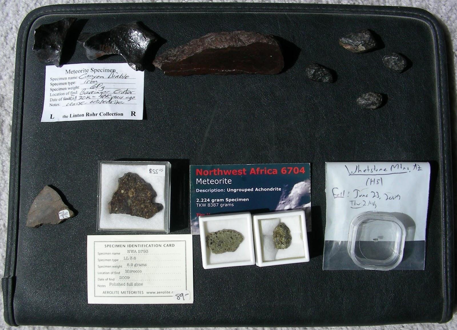 Meteorite label Chico