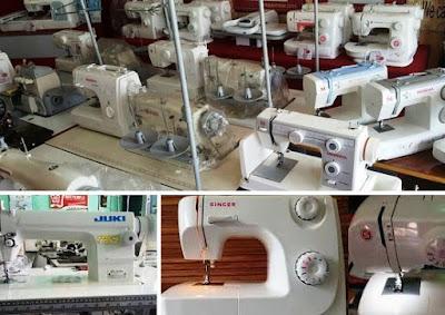 toko mesin peralatan konveksi terlengkap di Bandung Jawa Barat