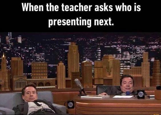 When Teacher Asks