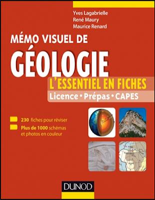 Télécharger gratuitement: Mémo visuel de géologie, L'essentiel en fiches et en couleurs - Dunod PDF