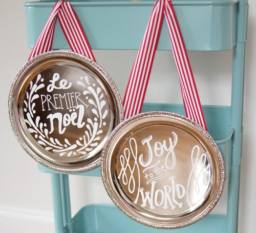 diy christmas plaques