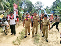 Desa Tabuk Kecamatan Belitang Hulu Resmi Jadi Kampung KB