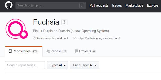 نظام التشغيل فوشيا أو فيوشا Fuchsia OS من شركة جوجل