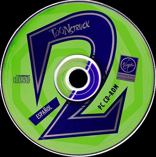 Toonstruck PC CD 2