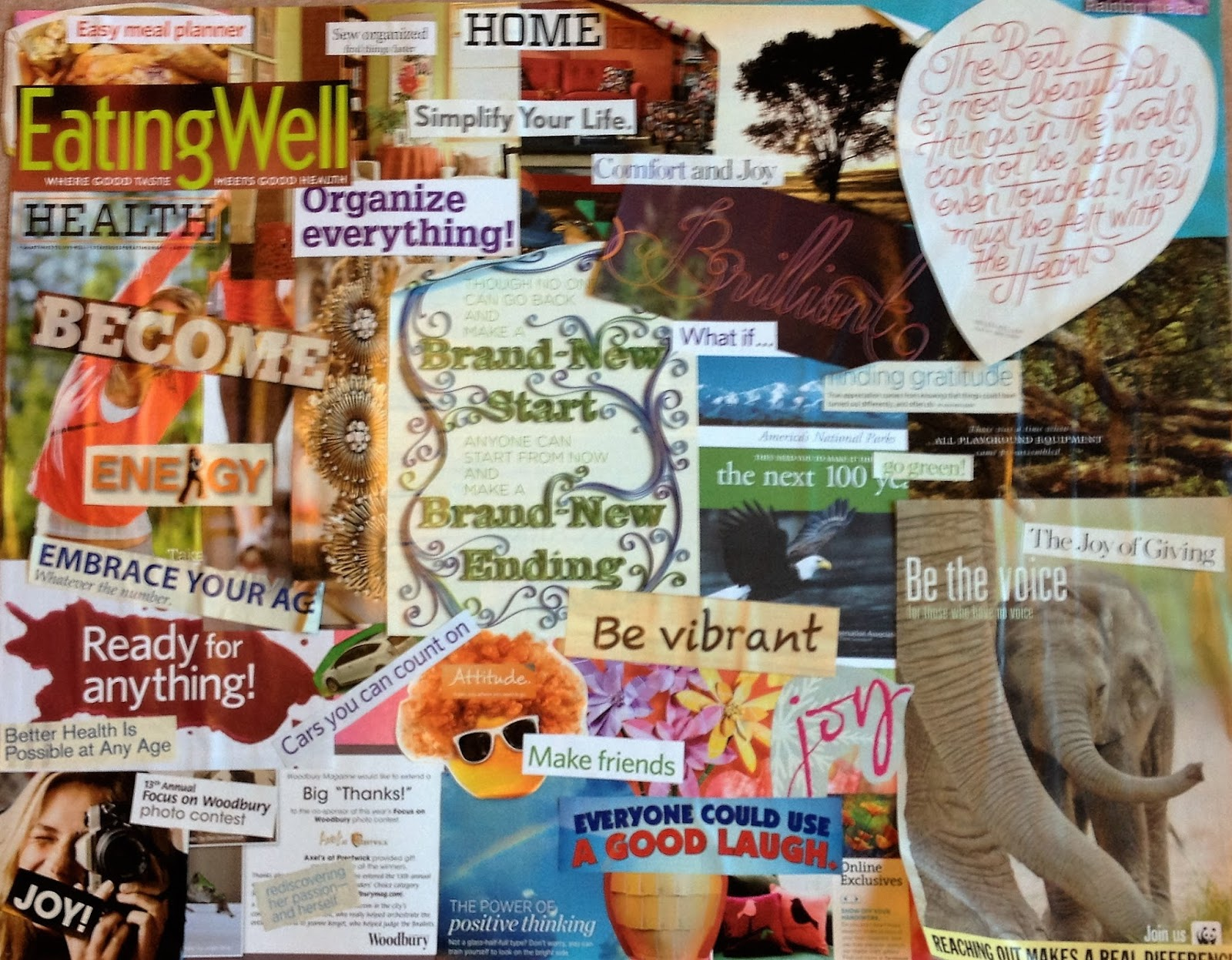 mostly it is a collage of words and pictures from magazines its fairly large though and since these art quilts are only 115 x 165 i went with only one